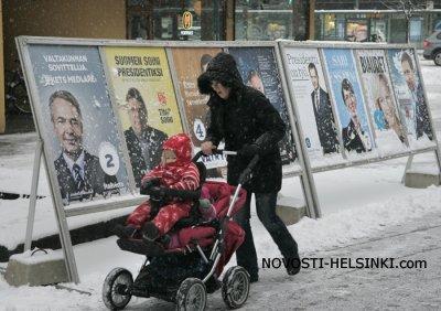 Финляндия выбирает президента