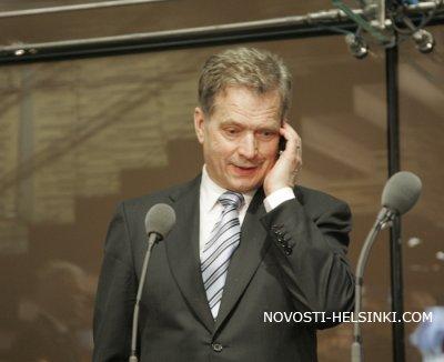 Избран 12-й президент Финляндии.