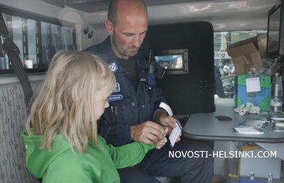 День полиции в Хельсинки
