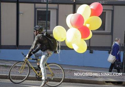Ехали обеды на велосипедах